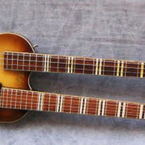 1962 Höfner Model191 Double-Neck