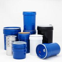 Müller AG Verpackungen: Konische Spannringtrommeln von 15 - 216,5 Liter