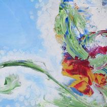 Songe glacé, acrylique sur toile, 38x55 cm, abstrait réalisé par Natpalette ( à retrouver dans la BOUTIQUE)