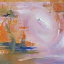 Songe nouveau, acrylique sur toile, 38x55 cm, abstrait réalisé par Natpalette (à retrouver dans la BOUTIQUE)