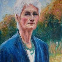 Françoise Romieux - Huile sur toile