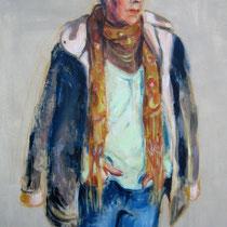 Gisèle Durand 60x92cm Acrylique sur toile