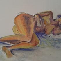 Pastel sur papier - Emmanuelle Bonneau