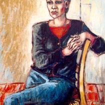 Gisèle Durand 65x81cm Acrylique sur toile