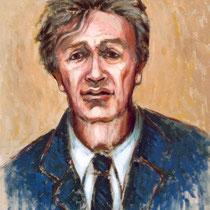 Elie Wiesel    46x55cm    huile sur toile