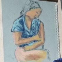 Pastel sur papier - Isabelle Constant