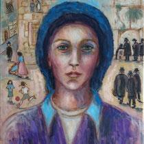 Haredim, dans la tête d'Akiva Shtisel - 46 x 38 cm