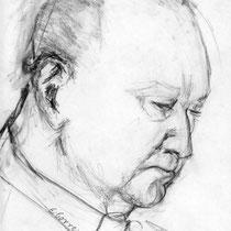 Jean Gorren  Crayon sur papier