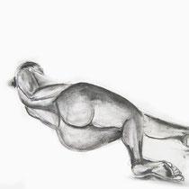 Crayon sur papier - Emmanuelle Bonneau