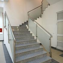 Escalier intérieur en granit