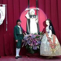 Procesión a San Vicente. Altar del Angel Custodio