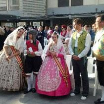 Misa en honor de la Mare de Deu dels Desamparats