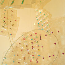 "copyright Nathalie Arun Installation ""Indian Pearls"""