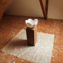 Installation Sakura © erdengoldkunstwerk Nathalie Arun und Cornelia Kalkhoff