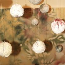 Installation Bruchstücke verblassender Erinnerungen © Nathalie Arun
