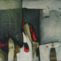 Hacia el lado contrario / 170 x 150 cms / técnica: acrílico sobre lienzo