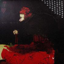 Soslaya / 100 x 100 cms / técnica: mixta sobre lienzo