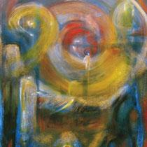 Espitia Galeria / Danilo Sedano / Desobediencia / Mixta sobre lienzo / 172 x 116cms