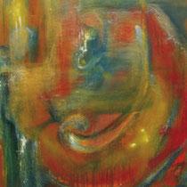 Espitia Galeria / Danilo Sedano / Desnudo / Mixta sobre lienzo / 172 x 115cms