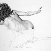 Espitia Galeria / Ignacio Leon Manjarres / Pencil on ilustration board / 73 x 50cms
