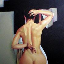 Espitia Galeria / Ignacio Leon Manjarres / Oleo sobre tela / 50 x 50cms