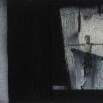 sin titulo / 150 x 54 cms / técnica:mixta sobre lienzo