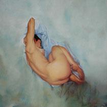 Espitia Galeria / Ignacio Leon Manjarres / Oleo sobre tela / 120 x 100cms