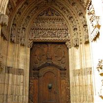 © Traudi – Schwäbisch Gmünd - Heilig-Kreuz-Münster, südl. Seitenportal