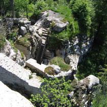 © Traudi – Ruine Weißenstein  -  Blick nach unten