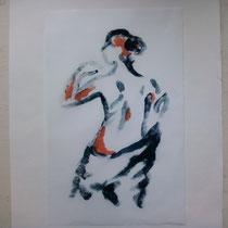 Matinale monotype (2012) 15 x 20 cm