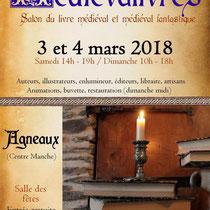 affiche salon Medievalivres 2018