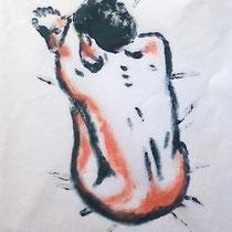 L'éveil monotype (2012) 15 x 20 cm