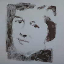 Vera monotype 15 x 15 cm (projet couverture livre Vera Moore de C. Baillat)