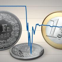 Die SNB hebt den Euro-Mindestkurs auf.