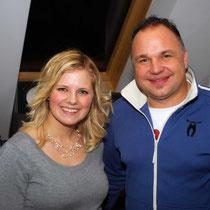 Melanie Payer mit Produzent Markus Holzer