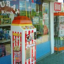 Kiosk Weil am Rhein beim Schulzentrum