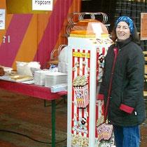 Verkaufsstand vor Baumärkten, Hornbach in Binzen