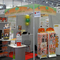 Messestand Vendingautomaten