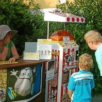 Strassenfest Verkaufsautomaten