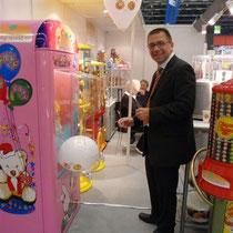 neuer Luftballon-Automat