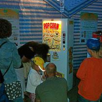 Münzautomaten bei Veranstaltungen