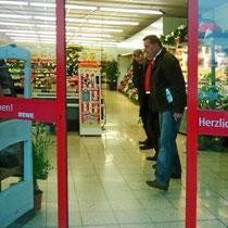 REWE Markt bei Frankfurt