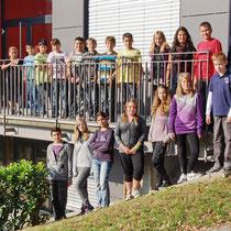 Klasse 6a mit Klassenlehrer Uli Schmidt