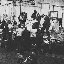 """Ook bij de """"live"""" opnames voor de twee """"Cliff"""" EP's in de Abbey Road studio, werden Selmer versterkers en speaker cabinets gebruikt"""
