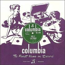 """Op de eerste Columbia single """"Move It""""/ Schoolboy Crush"""" speelden naast de componist van """"Move It"""" Ian Samwell ook twee sessie muzikanten mee, gitarist Ernie Shear en bassist Frank Clarke samen met drummer Terry Smart"""