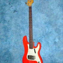 "Fender Presision Bass ""Fiësta Red"""