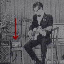 Hank gebruikte een Echomatic 2 gedurende de vroege Burns periode