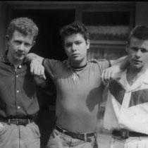 """In de maand augustus 1958 traden ze elke dag op in  """"Butlins Holidy Camp"""" een vakantiepark in Clacton on sea."""