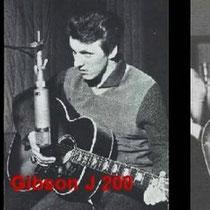 Bruce gebruikte ook diverse type's Gibson gitaren
