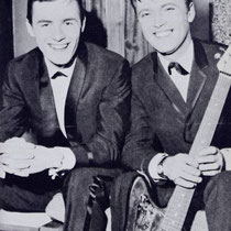 Tony en Jet met een Fender Jaguar